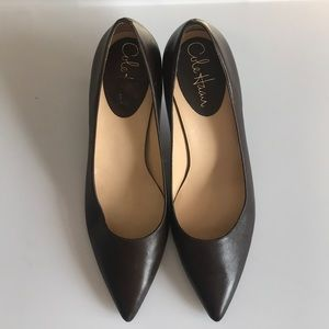 Gorgeous rich brown NWOT Cole Haan pump heels Sz 7